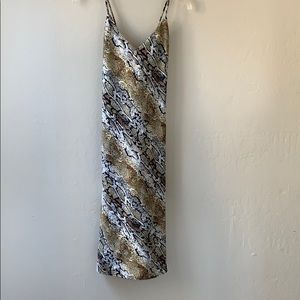 Brand new Vanessa Mooney slip dress
